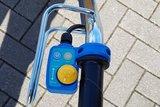 Elektrische kruiwagen voor de hovenier of de bouw_