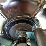 "E-PowerBarrow HUB motor 24V 430Watt met 16"" tractor profielband_"