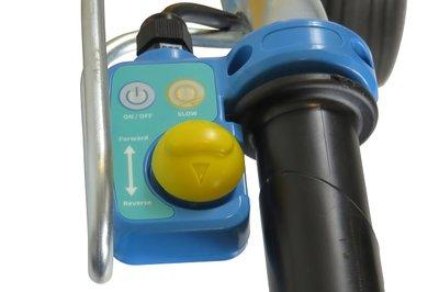 Gashendel voor de E-PowerBarrow elektrische kruiwagen