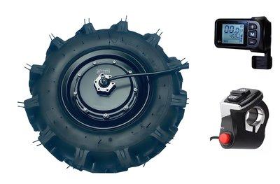 Quinder Brushless HUB motor 550Watt 48Volt 16″ plug-and-play aandrijfset