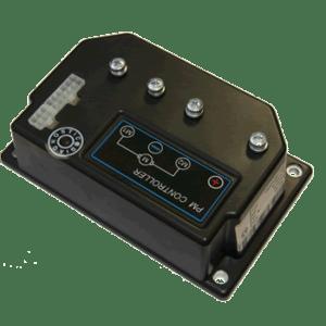 24V DC 60A programmeerbare controller - Pot meter aan-uit bediening